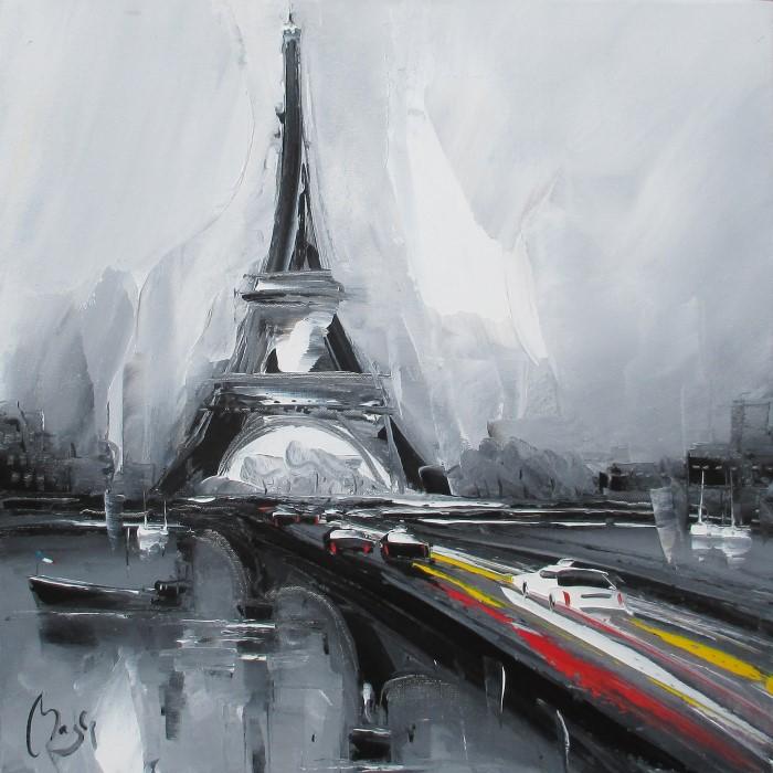 Поклонник художников-импрессионистов. Louis Magre