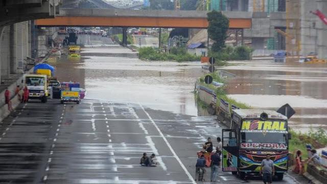 Jakarta dan Bekasi Kembali Terendam Banjir