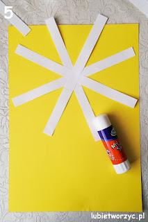 Kwiaty z papierowych pasków - praca plastyczna | Handmade | zBLOGowani