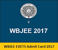 WBJEE EVETS Admit Card 2017
