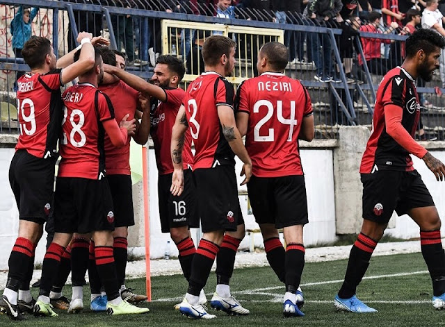 Celebrations for Albanian teams of North Macedonia: Shkëndija, Skopje and Struga qualified for the Cup