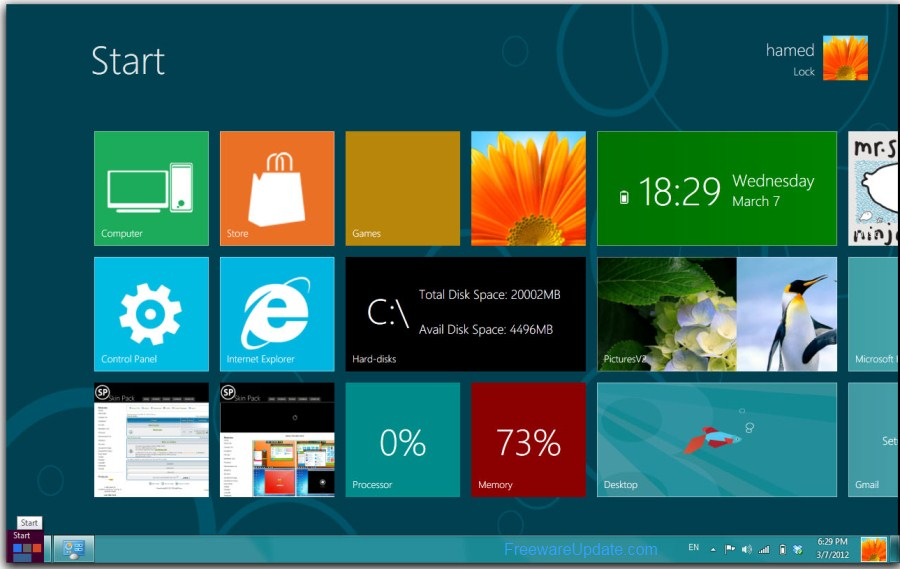 Windows 8 transformation pack 6. 5 full | computer tricks.