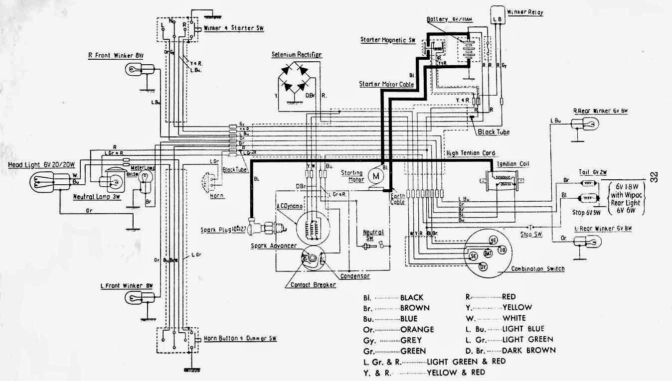 Honda C100 Carburetor Diagram Honda CM91 Carburetor