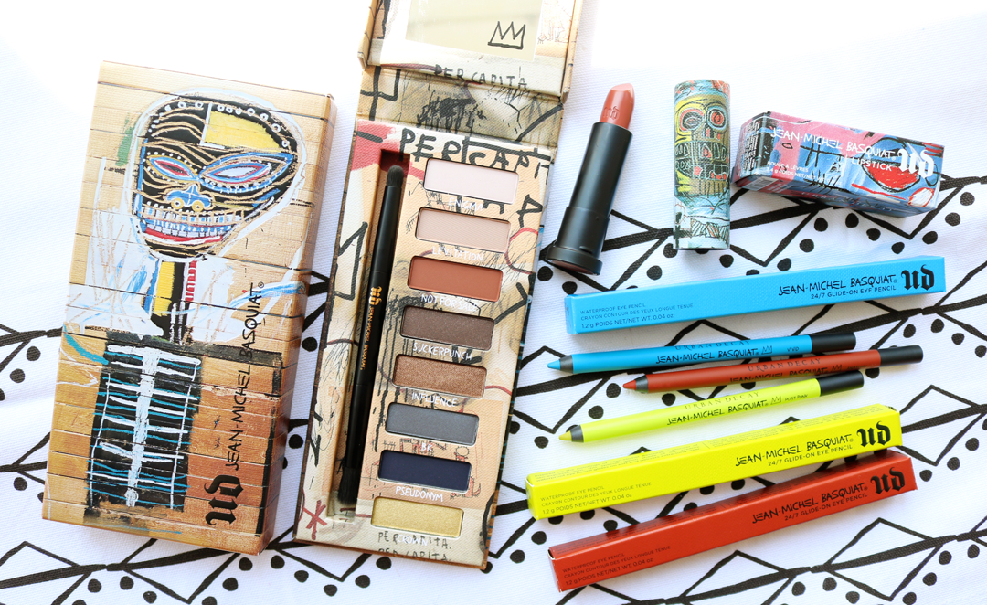 New In: Urban Decay x Jean-Michel Basquiat Collection - Review & Swatches