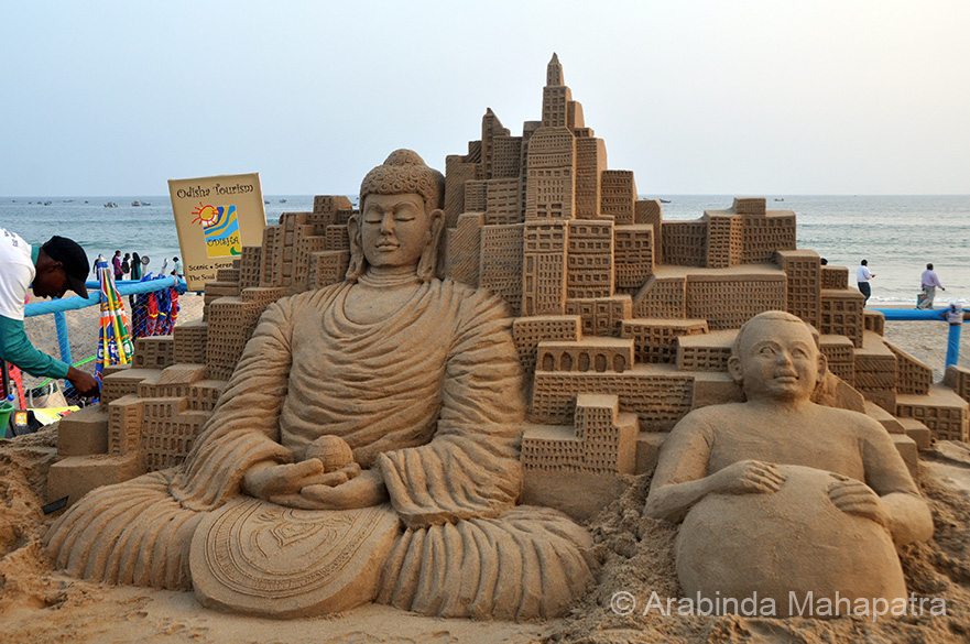 The Sand Art of Odisha : The International Sand Art Festival – The Cultural  Heritage of India