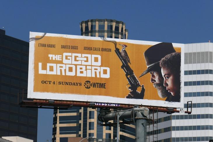 Good Lord Bird series premiere billboard