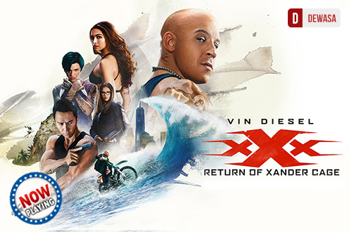 Film XXX: RETURN OF XANDER CAGE Bioskop
