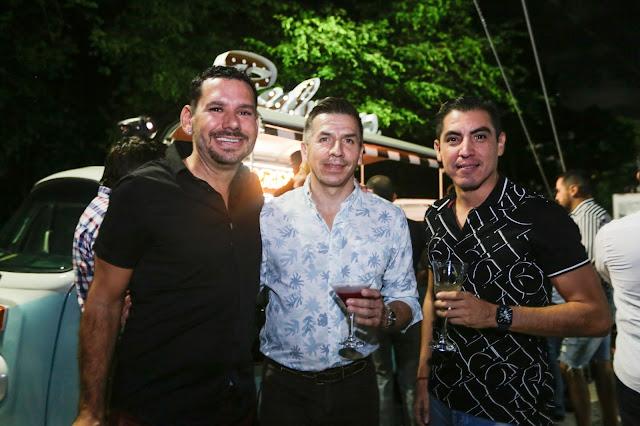 Christian Hermosillo, Alejandro Ramírez y Armando Salinas.