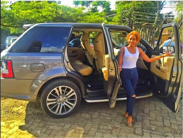 Kenyan Girls Behaving Badly: Huddah Monroe gets new ride ...