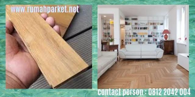 jenis lantai kayu solid indoor - parket jati