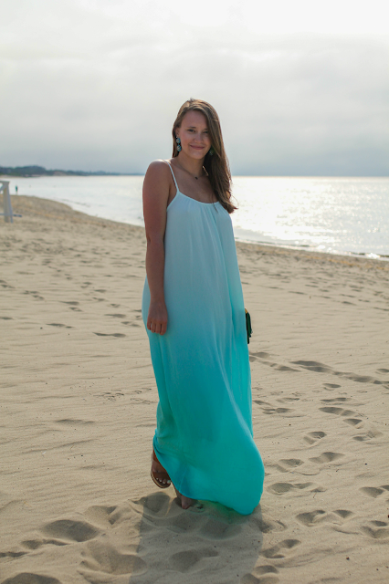 Splendid Ombre Maxi Dress