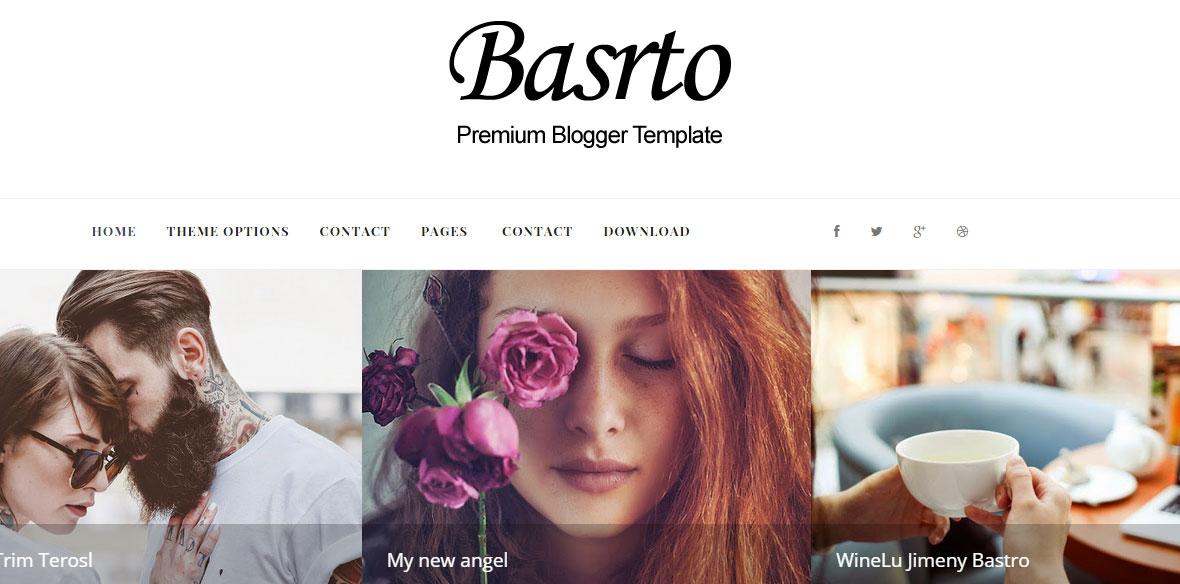 Bastro Responsive Blogger Template