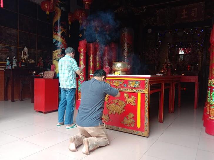 Imlek, Kelenteng Fuk Ling Mau Gondomanan Terapkan Prokes Ketat