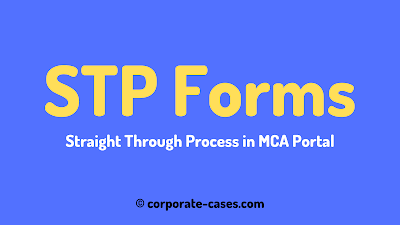straight through processing forms mca