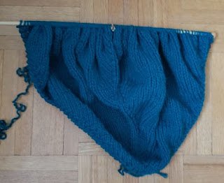 Wellington Worksock shawl