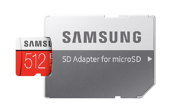 Samsung Launches EVO Plus 512GB microSD Card