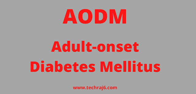 AODM full form, What is the full form of AODM