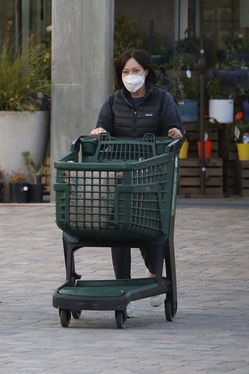 Shannen Doherty Clicked While Shopping at Whole Foods in Malibu 17 Sep -2020