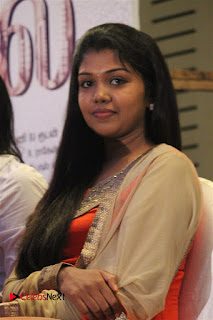 Tamil Actress Rythvika Pictures in Salwar Kameez at Kabali Successmeet  0020