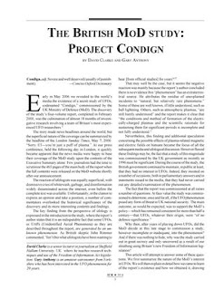 Project Condign