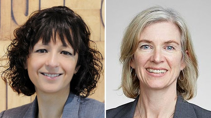 Two women jointly win Nobel Prize for chemistry for first time in history
