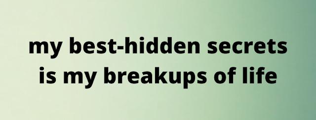 break up status