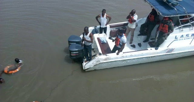 Man Tries To Commit Suicide Suicide By Jumping Into Lagos Lagoon in Broad Daylight