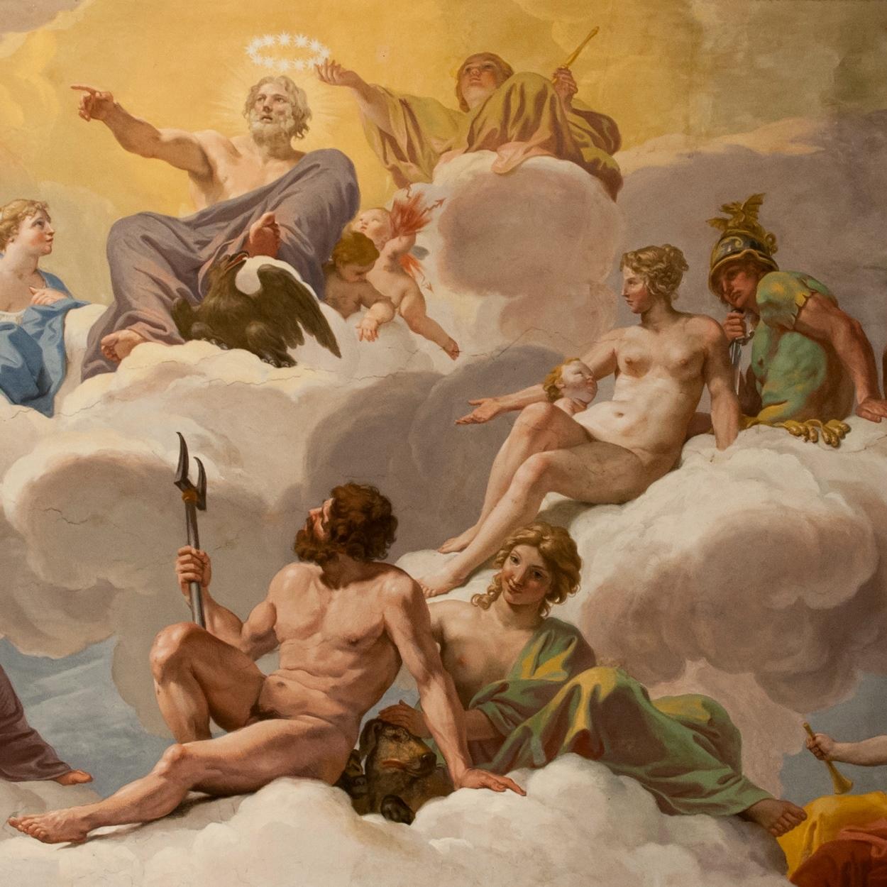 Боги олимпа картинках