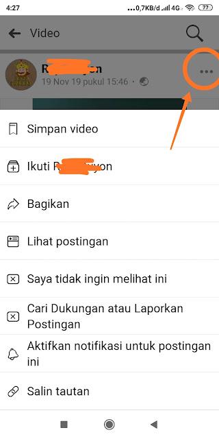 Cara Download Video dari Facebook ke Hape Android