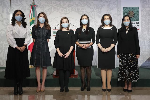Diputadas del PAN, PRI, PES y MC impulsarán iniciativas a favor de la vida y la familia