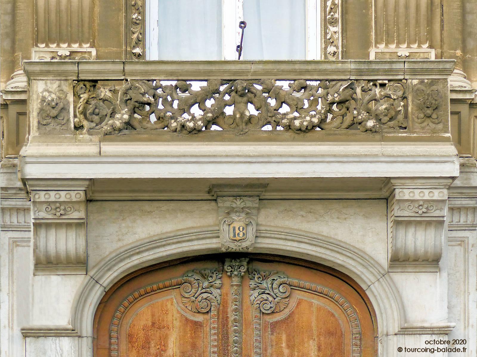 Balcon du Monastère des Bénédictines, Tourcoing 2020
