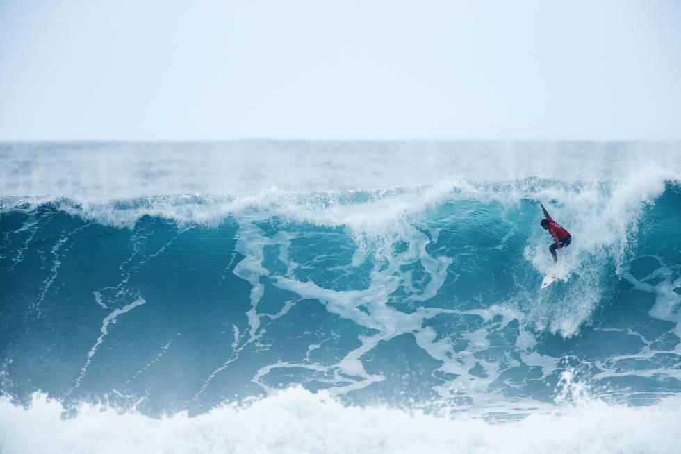 32 Michel Bourez Rip Curl Pro Bells Beach Foto WSL Ed Sloane