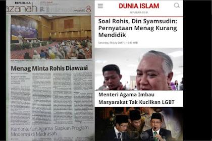Rohis Diawasi, LGBT Jangan Dikucilkan, Kita Ini Bangsa Apa?