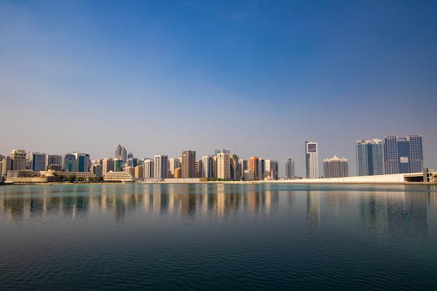 Panorama da La Galleria mall Abu Dhabi