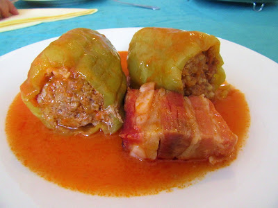 Kako napraviti dobre punjene paprike / How to cook delicious stuffed peppers