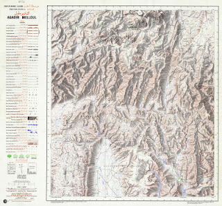 Afourar Morocco 50000 (50k)Telecharger la carte topographique