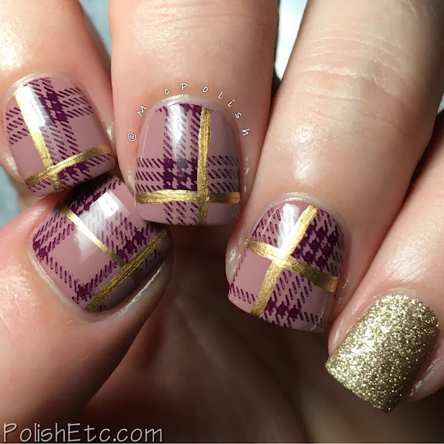 Plaid nails for the #31DC2017Weekly - McPolish