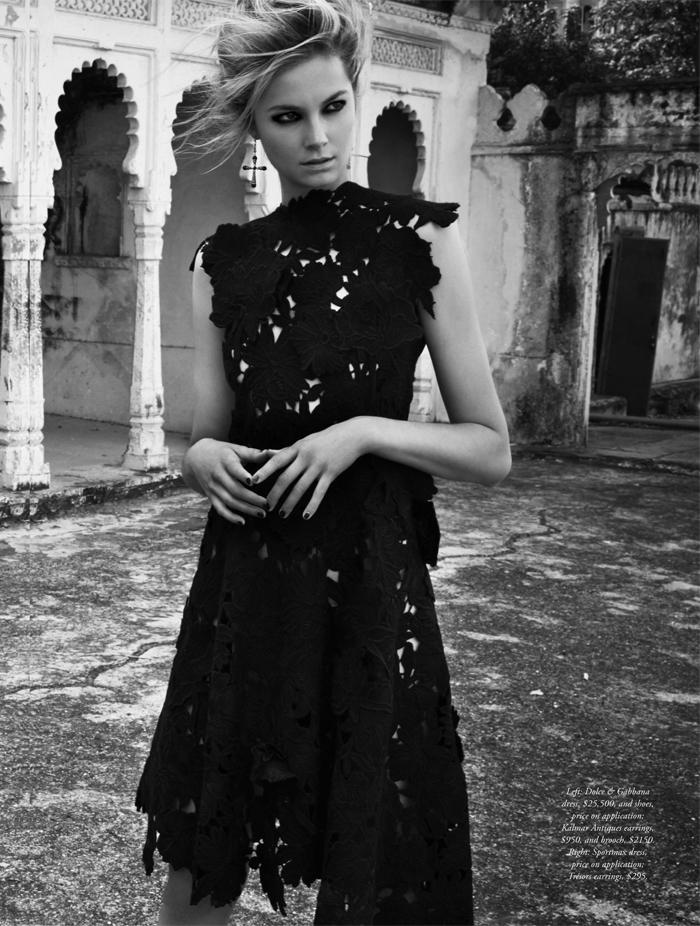 Chic Management: Bridget Malcolm for Harpers Bazaar ...