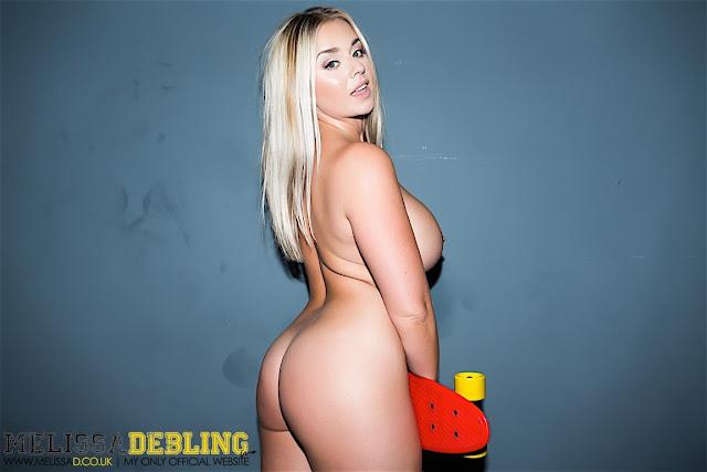 Melissa Debling big boobs skater girl full naked side sexy