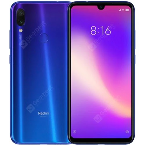 Xiaomi Redmi Note 7 4G Phablet Global Version 3GB 32GB Blue