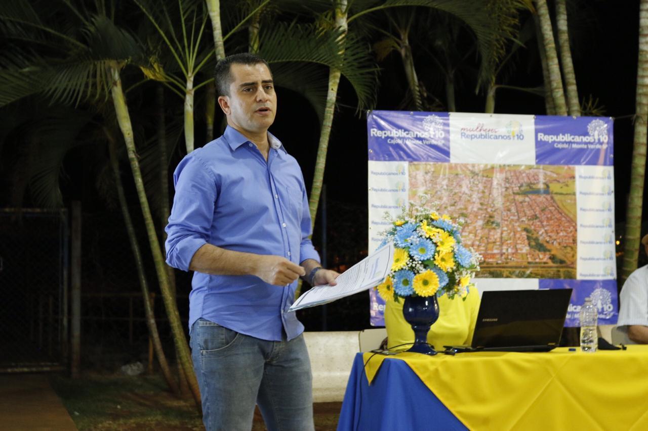 Partido Republicanos lança João Márcio como candidato a prefeito de Cajobi