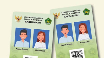 Gratis! Ini Cara Dapatkan Kartu Nikah Digital Bagi Pasangan Suami-Istri