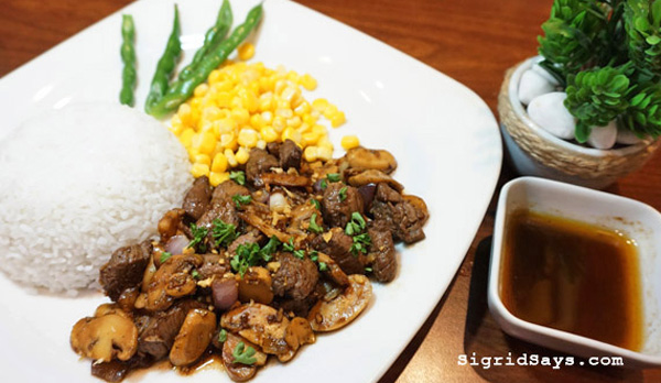 beef salpicao - Cookies and Crumbs Cafe and Restaurant - Bacolod blogger - list of Bacolod restaurants - where to eat in Bacolod