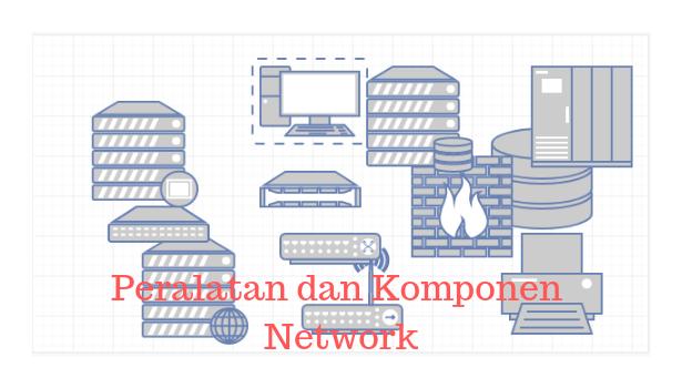 Peralatan dan Komponen Jaringan Komputer
