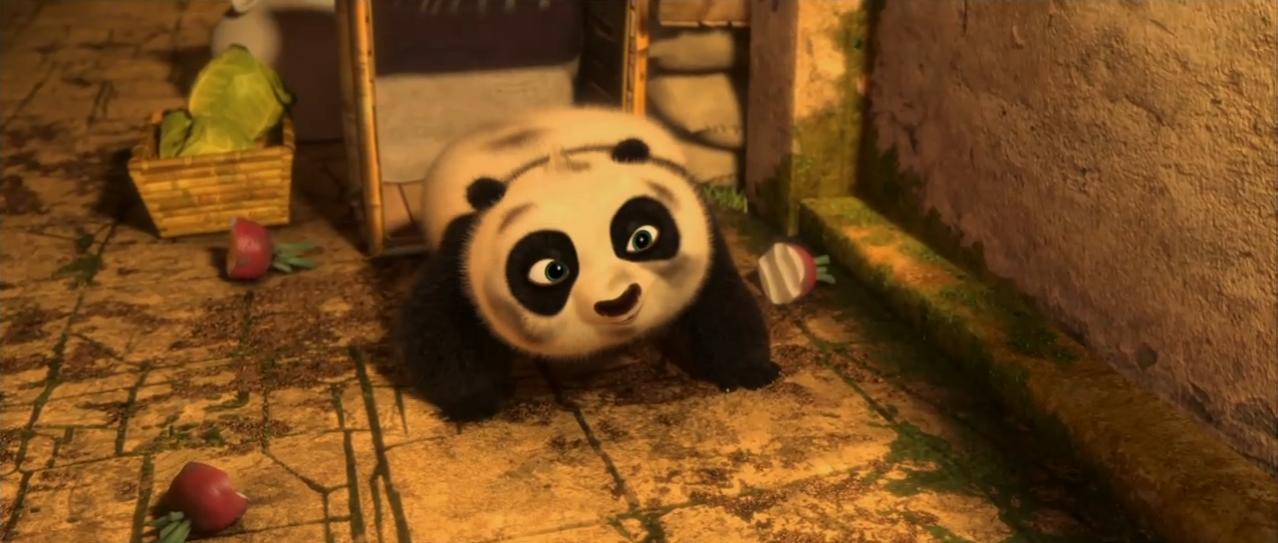 Pink Carousel Kung Fu Panda