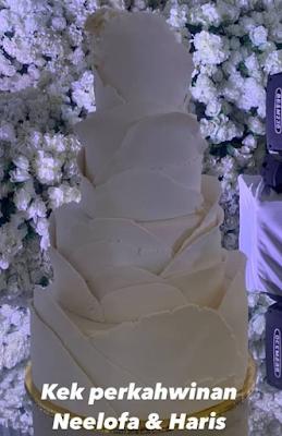 Kek Kahwin Neelofa