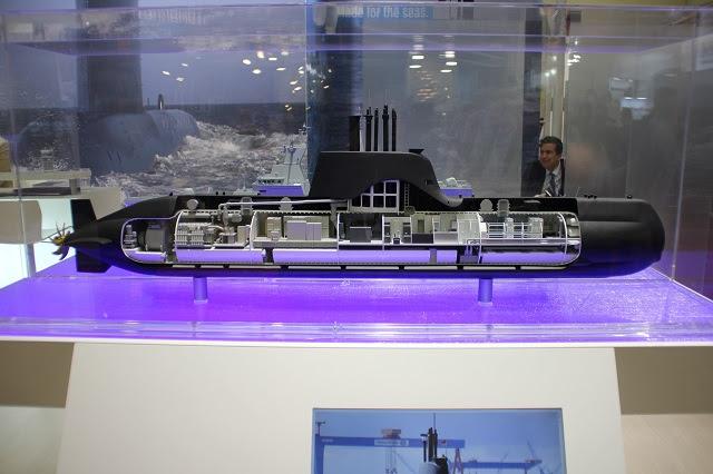 STM y TKMS Firman carta de intención con Submarinos 214 para la Marina de Indonesia