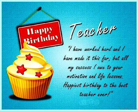Funny Birthday Wishes | Quotes | Messages and Images for Your Favorite Teacher