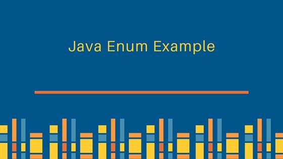 شرح اساسيات التعامل مع Java Enums