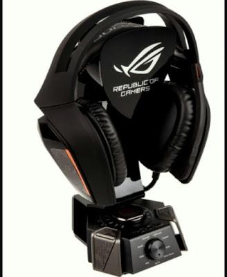 Headset mahal untuk gamers adalah dari asus ROG Centurion 7.1